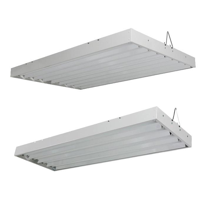 Sun Blaze Solar Flare T5 Ho 4 Fluorescent Fixture With 6500k Lamps
