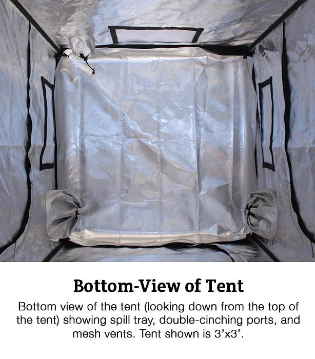 High Rise 5' x 5' Grow Tent