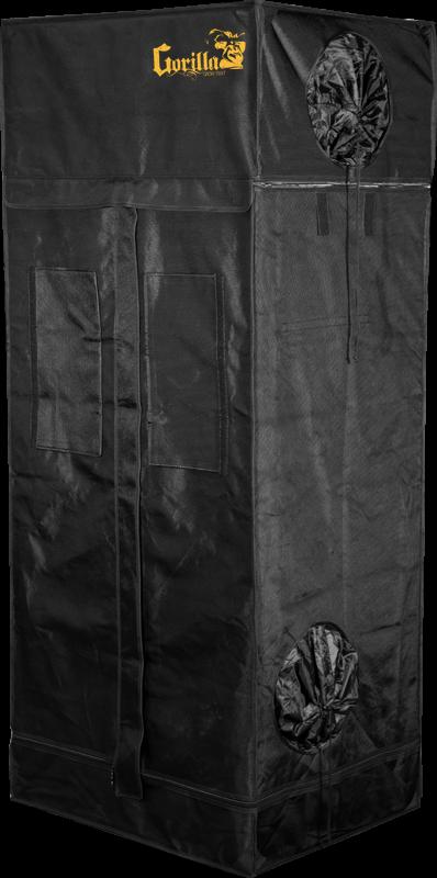 Gorilla Grow Tent Shorty 2' x 2.5' Fluorescent T5 Veg Soil Grow Tent Kit