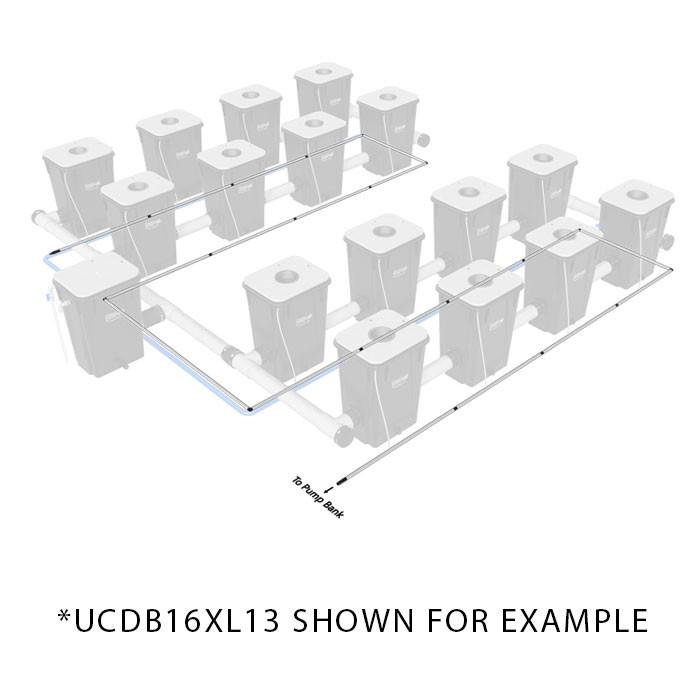 Current Culture Under Current Double Barrel Aeration Kit