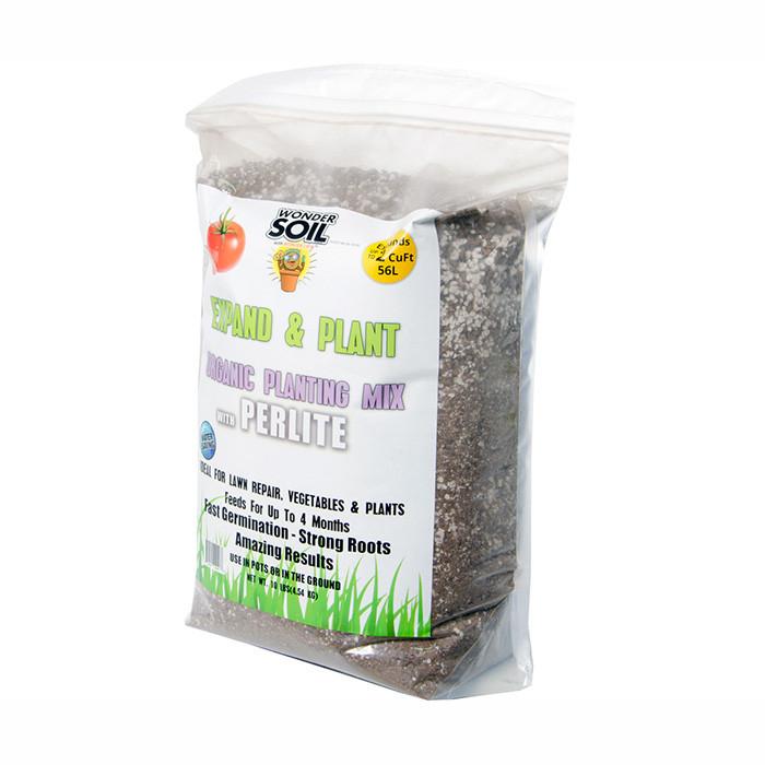 Wonder Soil Expand & Plant Organic Coir Granules with Perlite, 10 lbs Perlite Soils & Containers700 x 700 jpeg 84kB