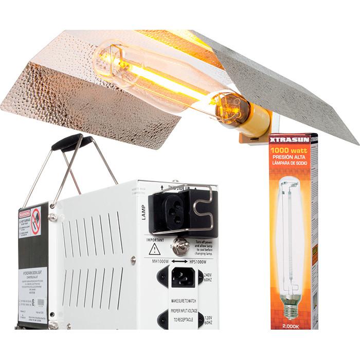 Xtrasun 1000 Watt Magnetic Hps Lighting System 120v 240v