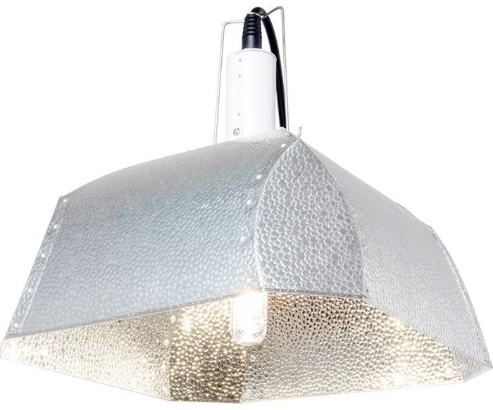 xtrasun 315w cmh aluminum grow light reflector