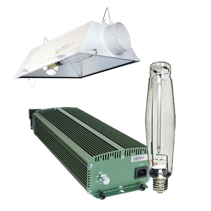 Galaxy 1000 Watt Dimmable HPS Air-Cooled Grow Light Kit