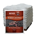 Mother Earth Worm Castings, 1 Cubic Feet - Pallet of 50 Bags