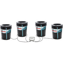 Active Aqua Root Spa 5 Gallon, 4 Bucket Hydroponics System