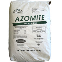 Azomite Micronized Natural Trace Minerals, 44 lbs.