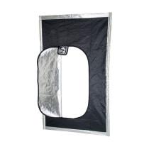 Hydrofarm Black Hatch Grow Room Door with Zipper