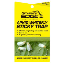 Grower's Edge Sticky Whitefly Trap 5/Pack