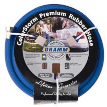 Dramm ColorStorm Premium Blue Rubber Hose, 5/8 in x 50 ft