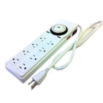 Gro1 8-Way Power Strip with Timer - 120V
