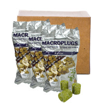 "Grodan 1.5"" Macro Plugs, Case of 35 Packs (50 per Pack)"