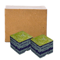 "Grodan Delta 4 Block, 3x3x2.5"", No Hole, Case of 384"