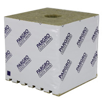"Grodan Pargro QD Jumbo Block 6""x6""x4"" in with Hole, Case of 64"