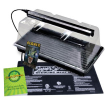 Super Sprouter Premium Propagation Kit with T5 Light - Plugs not included