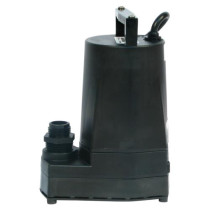 Little Giant 5-MSPR Submersible Pump Black, 1200 GPH