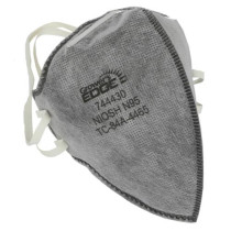 Grower's Edge Clean Room Vertical Fold-Flat Active Carbon Respirator Mask