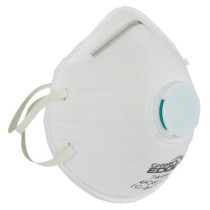 Grower's Edge Clean Room Conical Particulate Respirator Mask with Valve