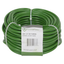 FloraFlex Tubing 100 ft Roll 1/4 in (Outer) x 3/16 in (Inner)