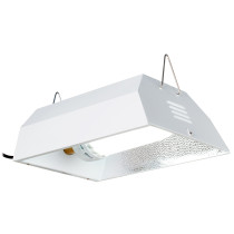 Hydrofarm 200W Complete Fluorescent Fixture System with 6400K Bulb