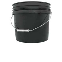 3 gal Black Bucket