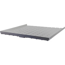 Active Aqua Infinity Tray End, Gray, 6.5' x 5' Minus (-)