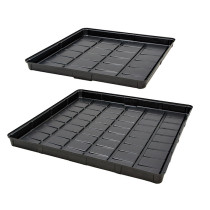 Active Aqua Low Rise Flood Tables, Outside Dimensions - Black