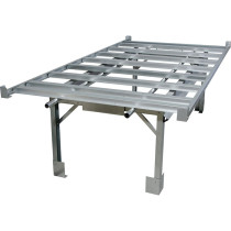 Active Aqua 4' x 8' Hydroponic Rolling Bench System