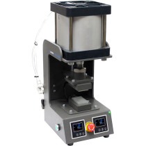 "Across International 2 Ton Pneumatic Rosin Press with Dual 3"" x 2"" Heating Platens, 110 Volt"