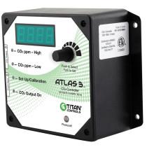 Titan Controls Atlas 3: Day/Night CO2 Monitor/Controller