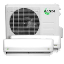 Aura Systems Dual Zone Mini-Split Air Conditioner with Double Air handlers & Heat Pump