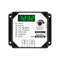 Grozone Controls CO2D 0-5000 PPM Dual Zone CO2 Controller