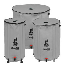 Urban Oasis Collapsible Water Storage Barrel