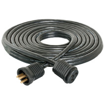 Hydrofarm Lamp Cord Extension, 25', Lock & Seal