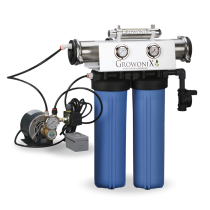 GrowoniX EX1000-T-Deluxe - 2000 GPD Deluxe Reverse Osmosis Filtration System with Tall Filters