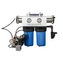 GrowoniX EX1000-Deluxe - 2000 GPD Deluxe Reverse Osmosis Filtration System