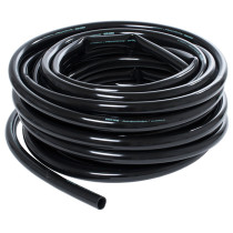 "Active Aqua 1"" Black Tubing, 25' Roll"