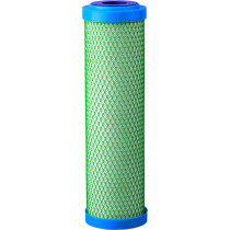 "Hydro Logic Stealth RO Replacement Green Coconut Carbon Filter, 10"" X 2.5"""