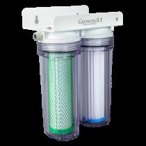 GrowoniX 1400 GPD Mini Scrub Dechlorinator and Sediment Filter System