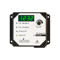 Grozone Controls SCO2 0-5000 PPM CO2 Controller - Simple One Series