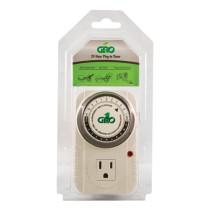 Gro1 Single Outlet Mechanical Timer - 120V