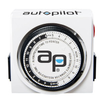 Autopilot Dual Outlet Grounded Timer