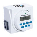 Autopilot 7 Day Dual Outlet Digital Timer
