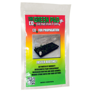 The Green Pad Jr CO2 Generator, Contains 10 Pads