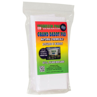 The Green Pad CO2 Grand Daddy Pad, 2 Pads with Hanger