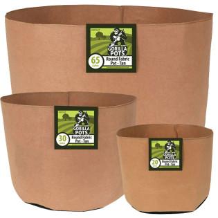 Gorilla Pot Premium Fabric Pots, Tan