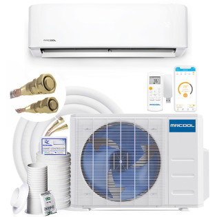 MRCOOL DIY Gen 3 E-Star Ductless Mini Split AC with Heat Pump and Wireless-Enabled Smart Controller