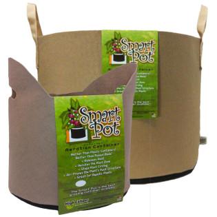Smart Pot Fabric Pots with Handles, Tan