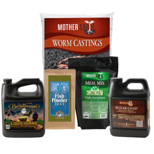 Mother Earth Compost Tea Vegetative Nutrient Package