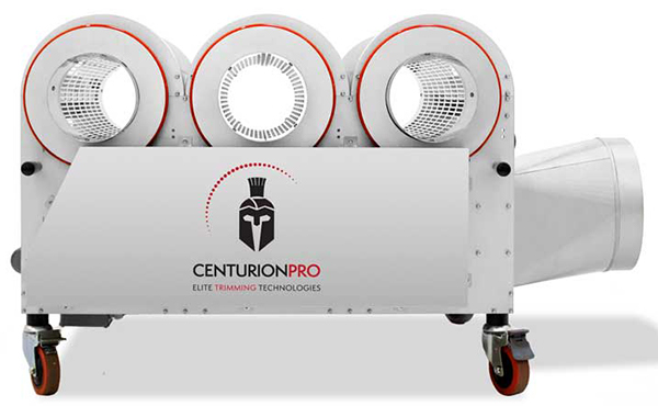 Large scale farms and commercial grows can use the CenturionPro 3.0 Medical Grade Trimming Machine to harvest fast